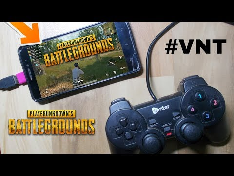 HOW TO PLAY PUBG USING USB GAMEPAD | PUBG GAMEPAD ANDROID GAMEPLAY