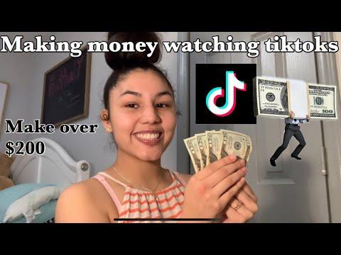 How To Make Money Watching Tiktoks Make Over 100 Youtube