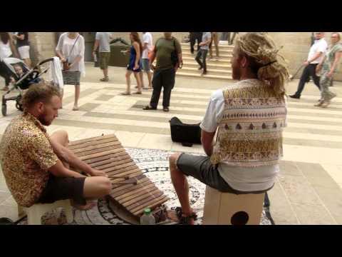 20150910 15:59 wood xylophone at Mammilla Jerusalem
