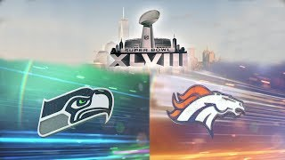 Super Bowl XLVIII Seattle Seahawks vs Denver Broncos Madden NFL 25 Xbox One