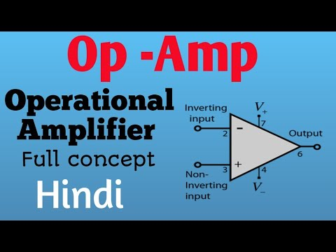 OP- AMP (operation apmlifier ) | Full basic concept in hindi | ECCF series