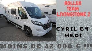 Cyril et Hedi de Camping-Car 69 présentent : Roller Team Livingstone 2 White Edition