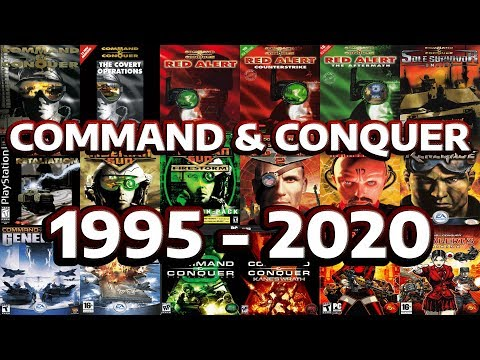 Command & Conquer Evolution And History - 1995 - 2020