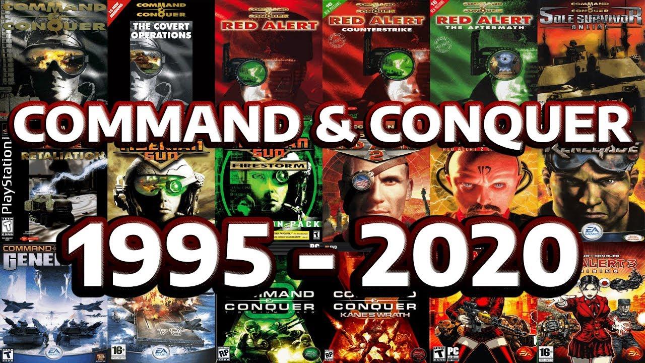 Command \u0026 Conquer Evolution And History - 1995 - 2020