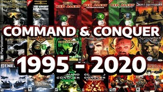 Command & Conquer Evolution And History  1995  2020