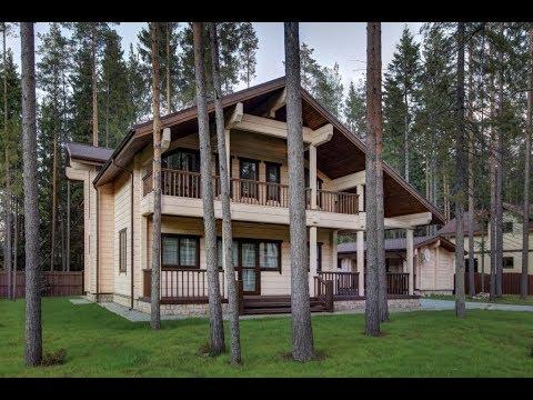 Сколько стоит построить дом из клееного бруса? Дом из бруса под ключ.