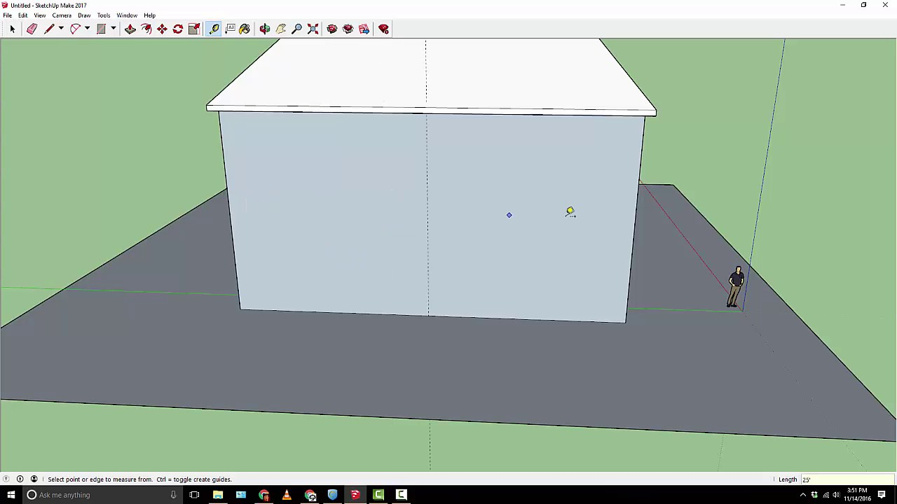 Designing A House In SketchUp   Part I
