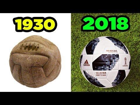 Les Ballons De La Coupe Du Monde De 1930 à 2018