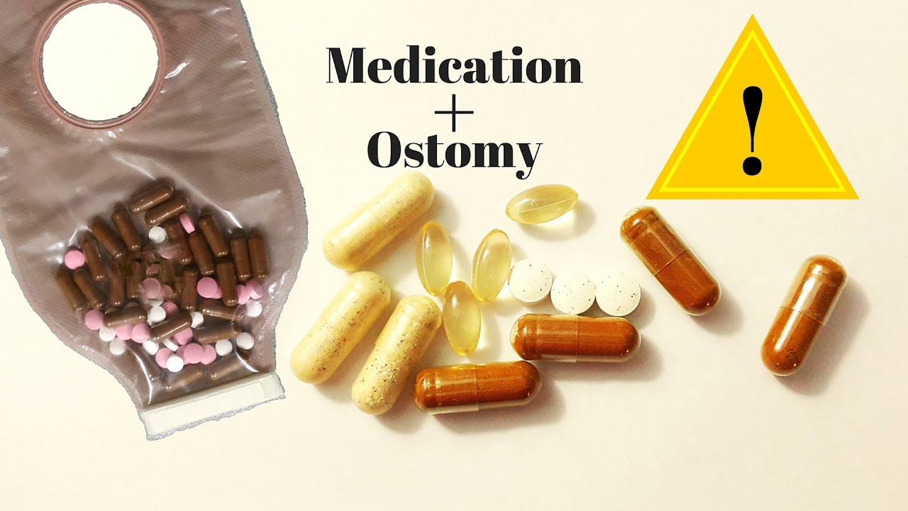 OSTOMY CARE TIPS: Medication and Supplements - YouTube   1920 x 1080 jpeg 143kB