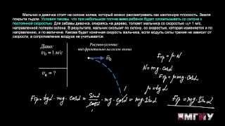 Физика. Выпуск 11. Решение задачи на тему «Динамика. Сила трения скольжения на наклонной плоскости».
