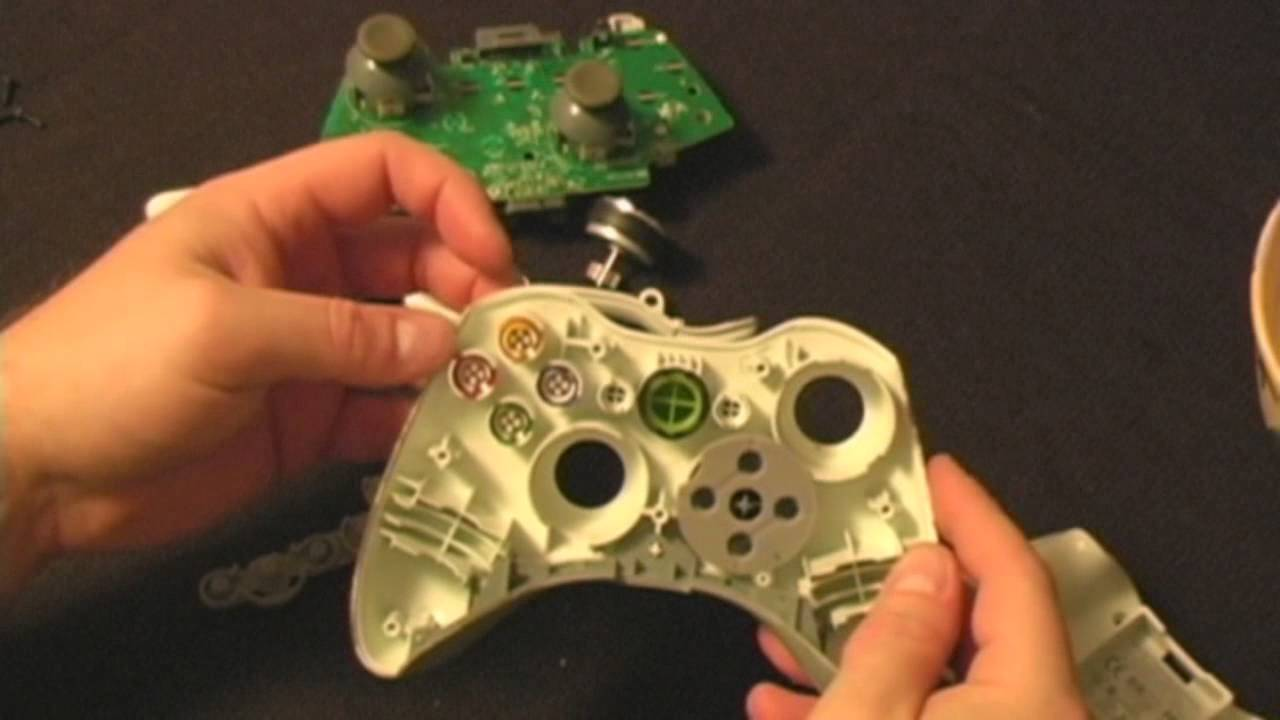 xbox 360 how to fix sticky buttons on your controller youtube rh youtube com Xbox 360 System Settings Xbox 360 Controller Guide