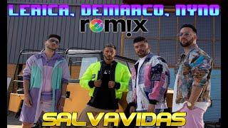 Lérica, Demarco Flamenco, Nyno Vargas - Salvavidas Remix
