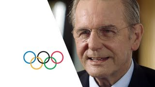 Thank you President Jacques Rogge
