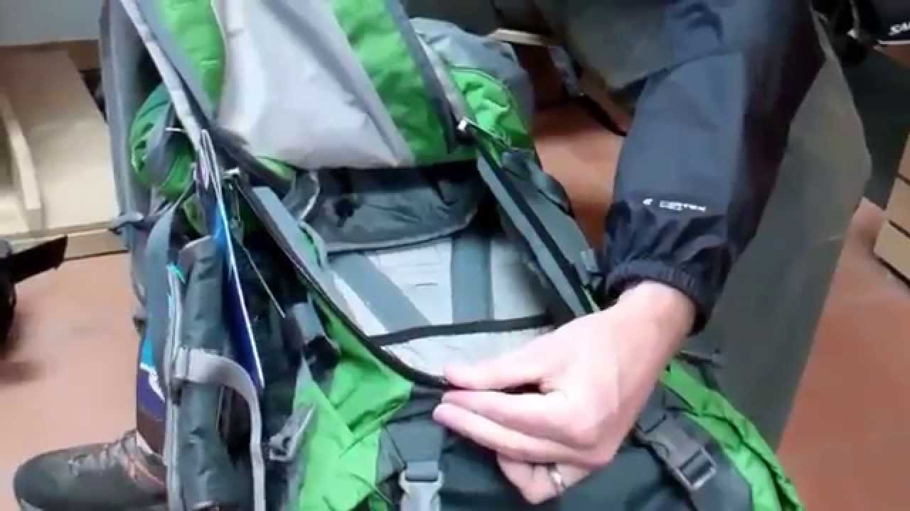 b7c56aed4149b Deuter Aircontact Backpacks Overview - YouTube