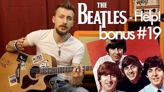 show MONICA bonus #19 - The Beatles - Help! (Как играть, видео урок)