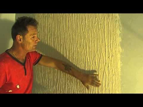 How to Make Tree Bark Wall Texture (knockdown) Easy Simple Steps