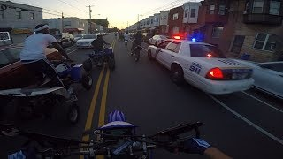 COPS CALL POLICE HELICOPTER FOR DIRT BIKES!!