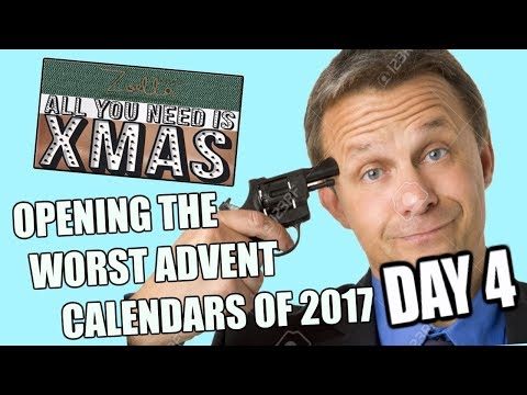 OPENING The WORST ADVENT CALENDARS of 2017 (DAY 4)