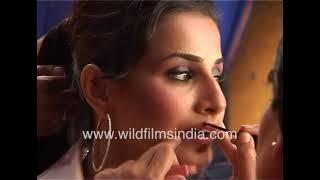 Vidya Balan Makeup & Hair In Kismat Konnection | BTS Of Bollywood Films
