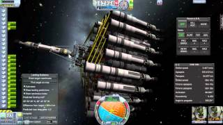 Kerbal Space Program (KSP) Eve Lander - Roundtrip for two to sea-level with rover