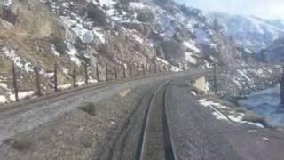 Riding Amtrak's California Zephyr #6: February 20, 2009 (Truckee to Reno)