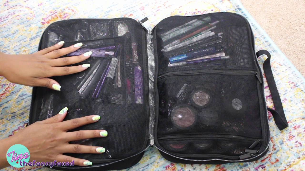 ☀ My MAKEUP Travel Bag ☀ w/ Urban Decay Urban Junkie Bag - YouTube