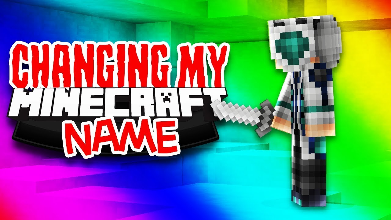 CHANGING MY MINECRAFT NAME (Hypixel Skywars)