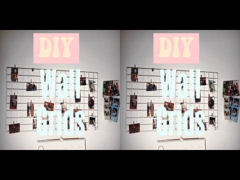 DIY Wall Grid    UO Inspired + Super Easy