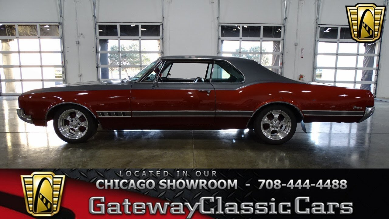 1966 Oldsmobile Starfire Gateway Classic Cars Chicago #1334