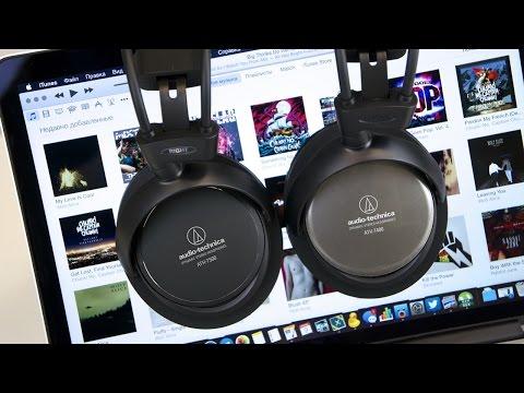 Обзор наушников Audio-Technica ATH-T400 и ATH-T500 (review)