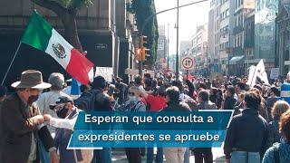 La Suprema Corte de Justicia de México analiza este jueves la constitucionalidad de la consulta popular propuesta por el presidente Andrés Manuel López Obrador, para enjuiciar por corrupción a sus predecesores