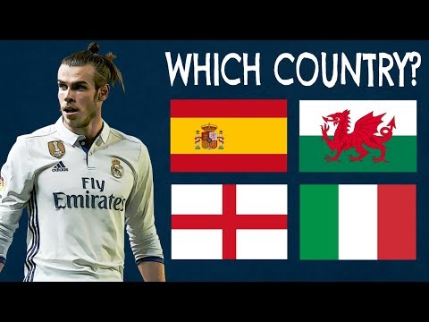 Which Countries Do The Players Play For? | Football Quiz
