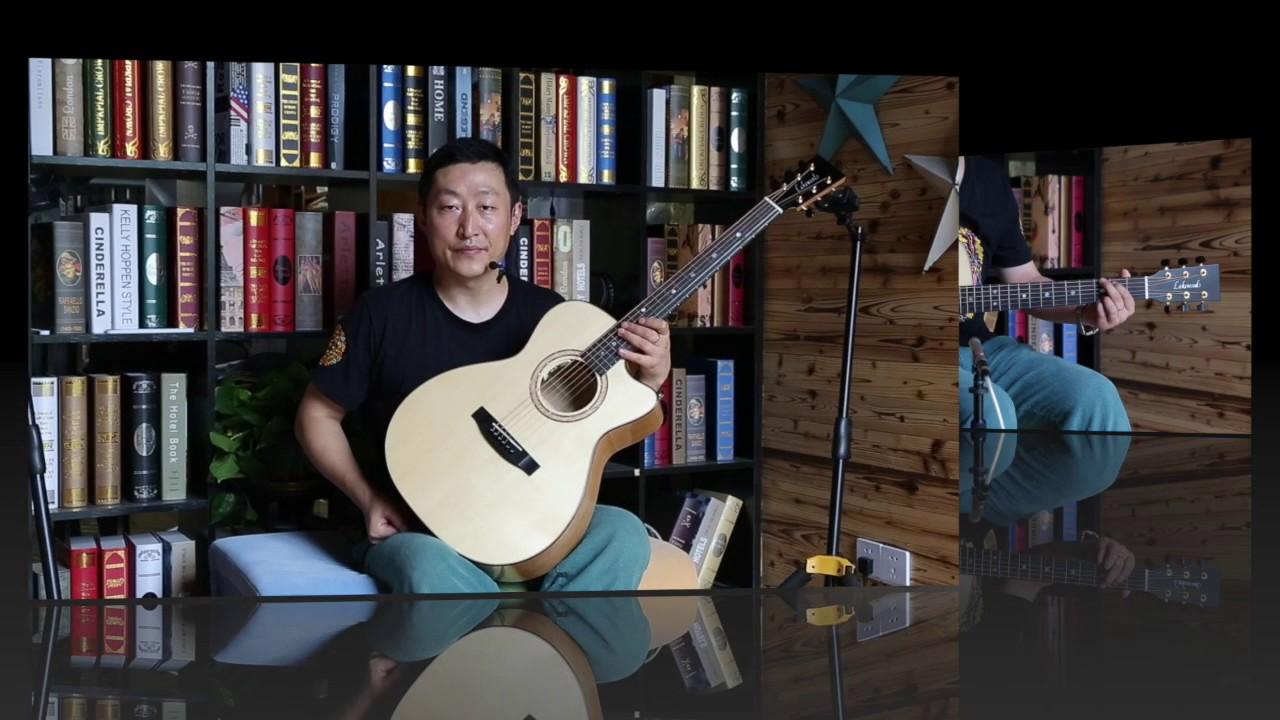 Lakewood M35CP guitars review 吉他評測 - YouTube