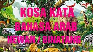 Mufrodat Nama-nama Hewan/Binatang, video pembelajaran Bahasa Arab untuk TK,RA,MI,Madin,SD,TPQ&Pemula