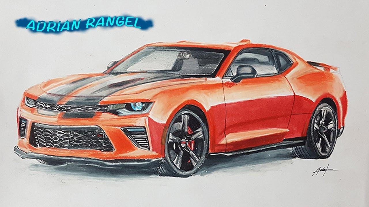Chevrolet Camaro Drawing Adrian Rangel Youtube