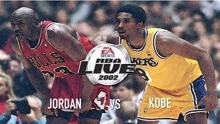 NBA Live 2002 - (Xbox) HD Gameplay - 1 on 1 | Jordan vs Kobe on the Blacktop!