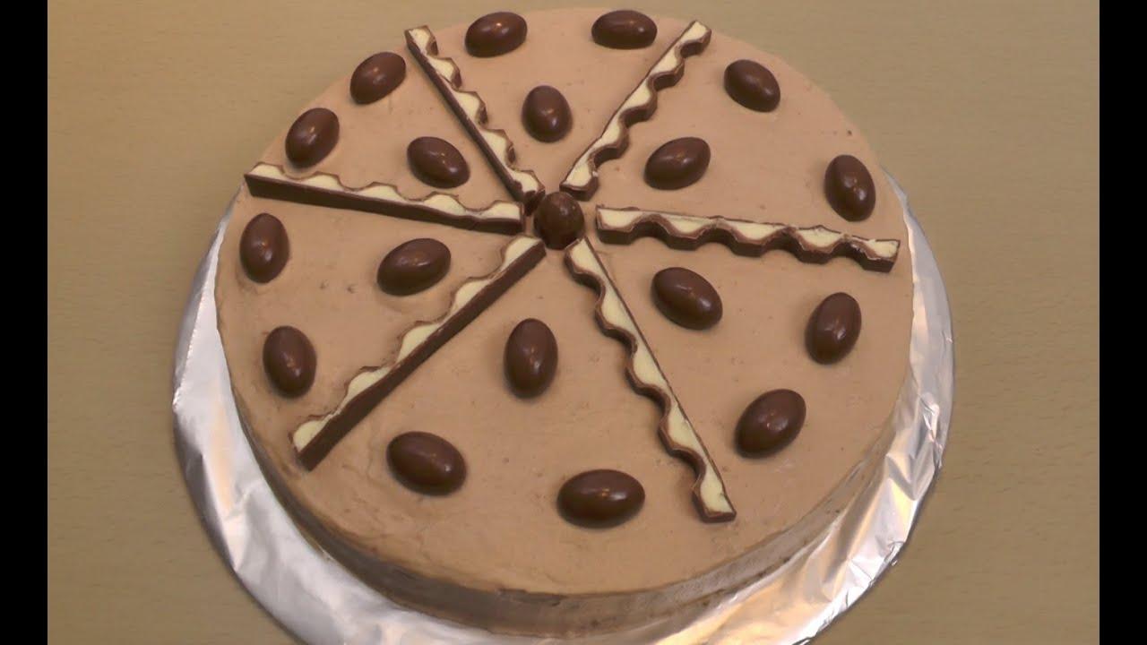 Grundrezept Kinderschokolade Torte  NinNin  YouTube