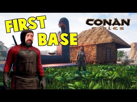First Base | Conan Exiles Gameplay | S02 E2
