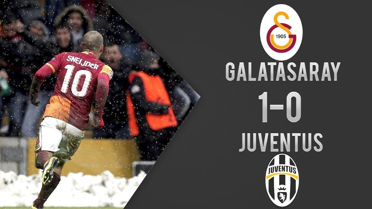 Galatasaray 1-0 Juventus | Şampiyonlar Ligi Maç Özeti | Türkçe Spiker (11/12/2013)