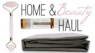 Home and Beauty Haul+Bedscape Sheet Set Review