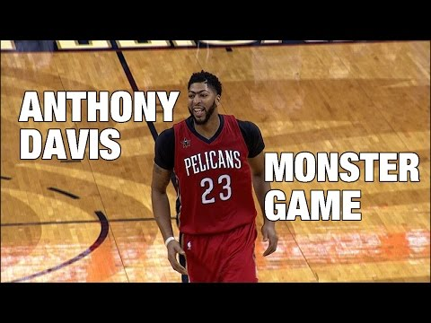 Anthony Davis MAKES HISTORY In Season Opener | 10.26.2016  (50p, 16r, 5a, 7s, 4b)