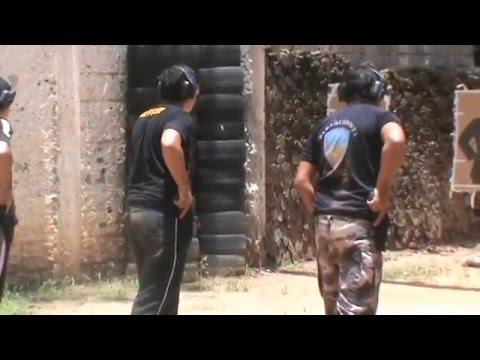 Treinamento de tiro - Curso de Vigilantes de 2014