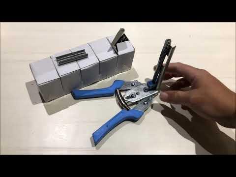Hog Ring Plier Fencing Gun Fastener Stapler M Nailer Wire Ringer W3000 Clips