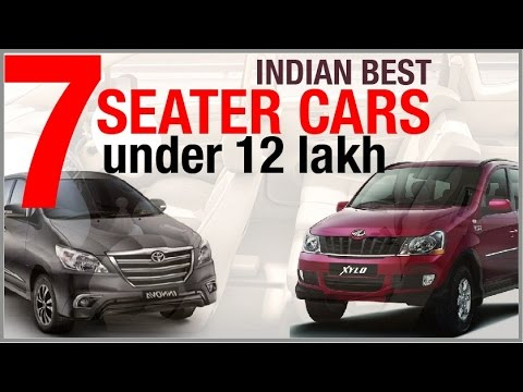 Indian Best 7 Seater Cars Under 12 Lakh (donu0027t Miss Out)