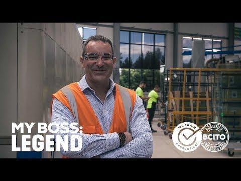 My Boss: Legend - Glass & Glazing