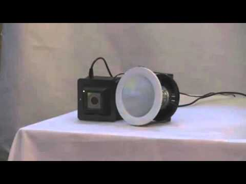 Lifi working video lifi experiment