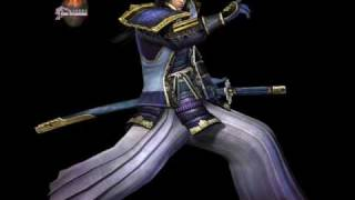 Samurai Warriors 3 (Wii) All 37 Characters