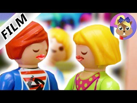 Film Playmobil en français - JULIAN + MIA s'embrassent à cause d'un gage! Fête d'anniversaire!