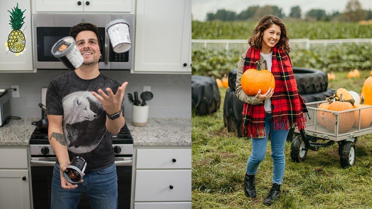 Pumpkin Picking + Vegan Mousse Taste Test