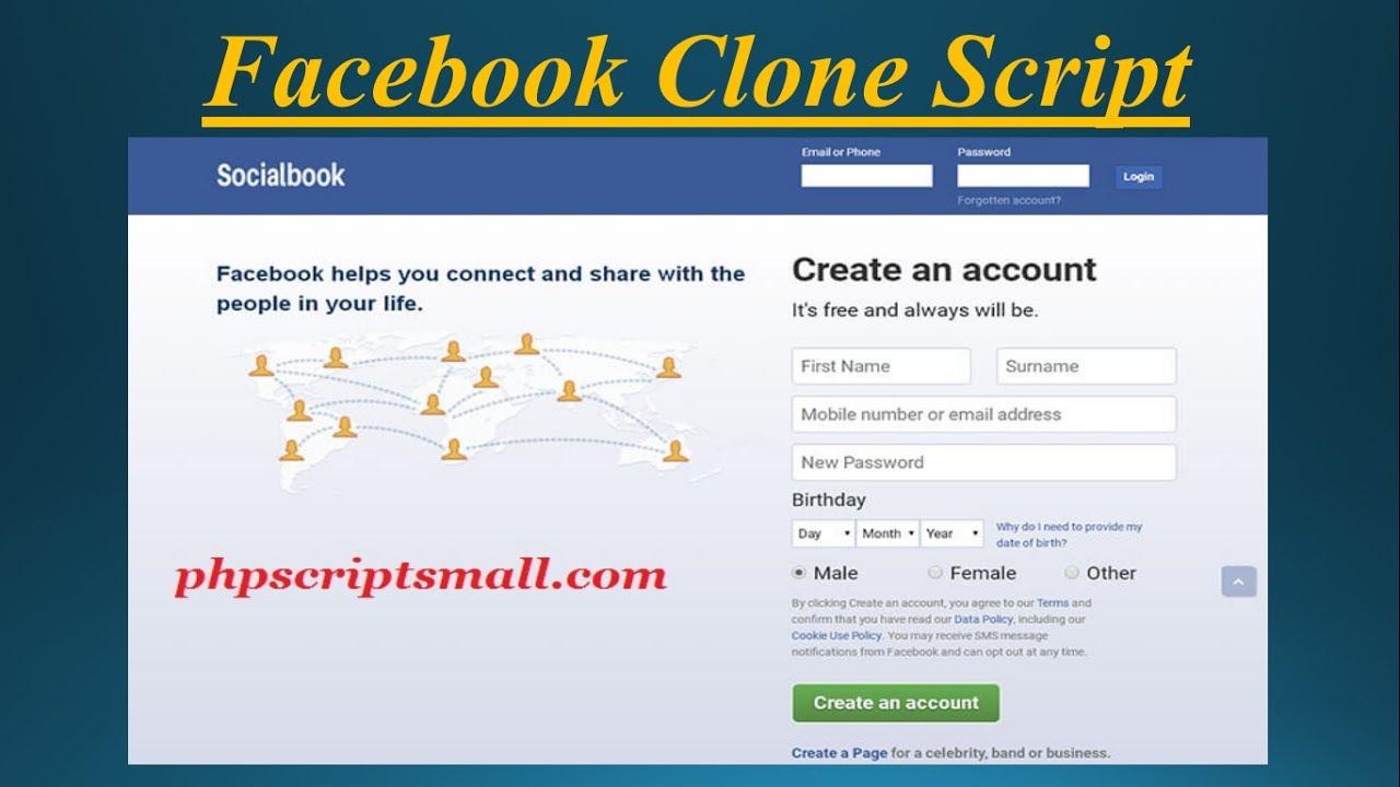 Open Source Social Network Script  | Facebook Clone Script